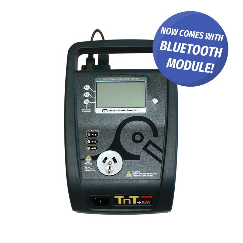 8c85e3c213 TnT+XM Portable Appliance Tester - Wavecom Instruments