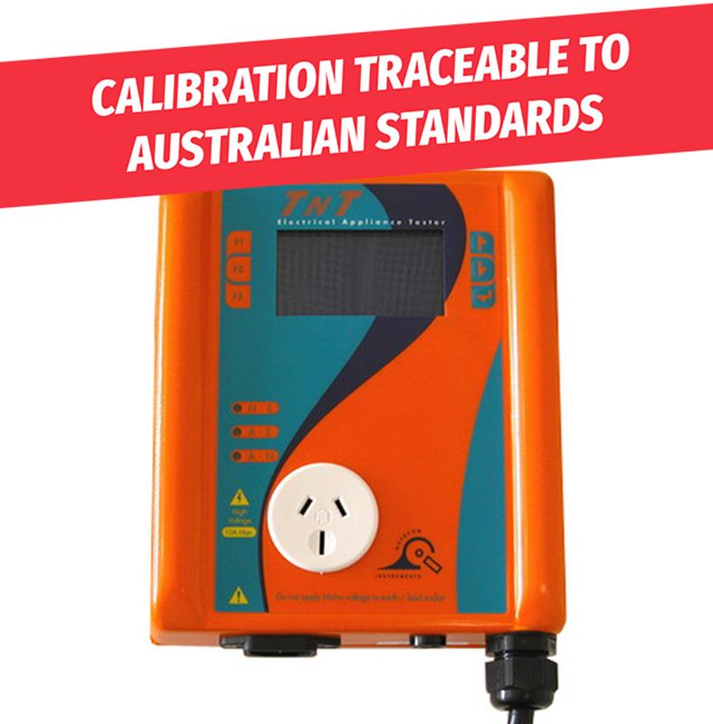 41cd4d7bd6 Calibrate your Wavecom TnT-ELXM Portable Appliance Tester - Wavecom ...