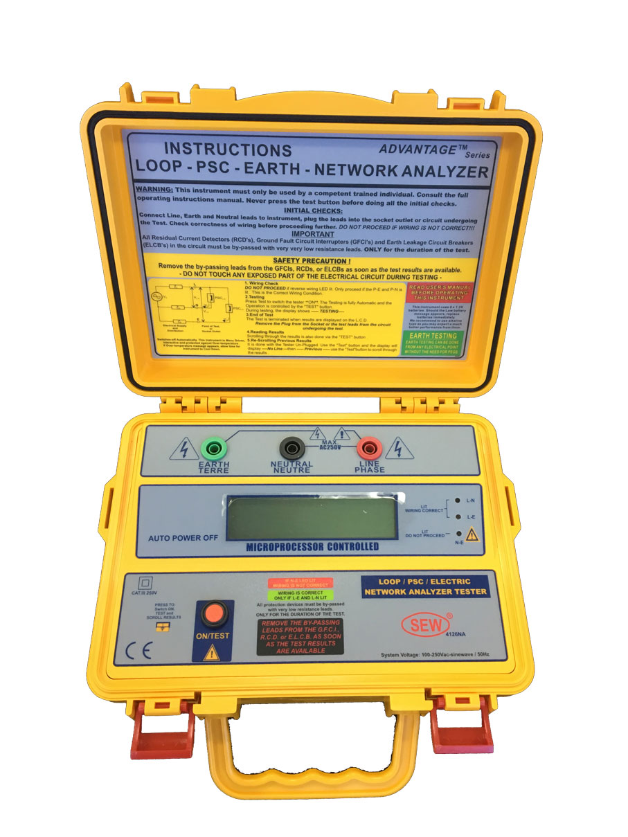 Wavecom Instruments WCM-4126 NA Digital Electrical Network Analyzer